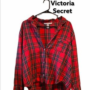 Victoria Secret Red Flannel
